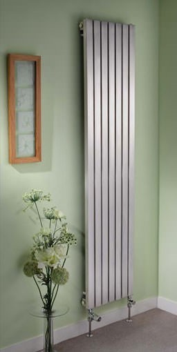 ferrara vertical stainless designer steel radiators