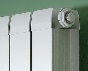 modena vertical aluminium radiator. Colour shown RAL 7004